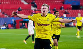 Haaland shows off outrageous acrobatics on dortmund goal (1:01) 4d Dortmund S Erling Haaland Scores Twice To Leave Sevilla With Uphill Task Champions League The Guardian