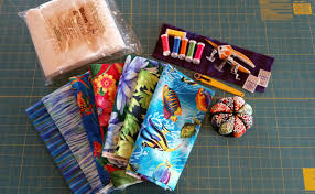 Spring Collage Quilt | WeAllSew & Materials to Create a Spring Collage Quilt Adamdwight.com