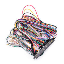 online buy wholesale jamma harness from china jamma harness How To Wire A Jamma Harness 28 pin with 5,6 buttons wires for arcade game machine accessories 6 action button how to install a jamma harness
