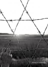 barbed wire fence holocaust. Plain Holocaust A Satr Of David Made From A Barbed Wire Fence On Barbed Wire Fence Holocaust S