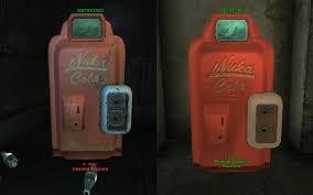 Fallout 4 Nuka Cola Vending Machine Extraordinary Fallout 48 Nuka Cola Bottle And Machine Replacer At Fallout48 Nexus