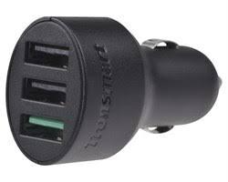<b>Зарядное устройство</b> USB <b>автомобильное Tronsmart</b> C3PTA 42W ...