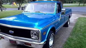 1971 Chevy Truck 327 Engine - YouTube