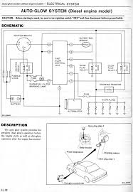 nissandiesel forums • view topic glow plug circuit components 1982 gp system schematic