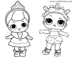 Best Doll Coloring Pages Lol Queen Bee Chucky Barbie Wallpaper