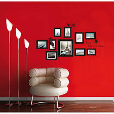 Small Picture Aliexpresscom Buy 10 Pictures Photo Frame Set Wall Mural Black