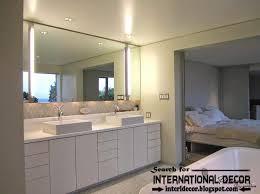 decoration bathroom lighting modern fixtures over mirror ideas recessed bathroom lighting best bathroom chandelier