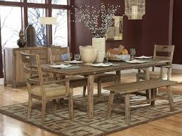 Kitchen Tables With Benches Oak Dining Room Tables And Chairs Bettrpiccom