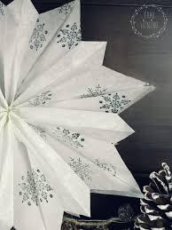 Diy Weihnachtsstern Aus Papiertüten Weihnachten