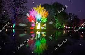 Botanical Gardens Christmas Lights 2018 Art Object Projected Fountain Botanical Gardens Palmengarten