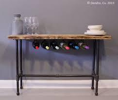 furniture nook. wine rack bar breakfast nook urban wood reclaimed industrial pipe wooden furniture usd by dendroco