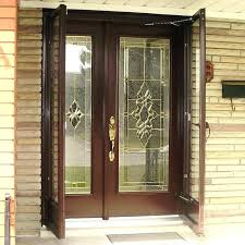 home depot security storm doors door installation cost decorative screen white with glass