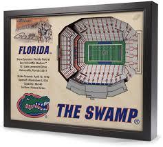 Lsu Stadium Seating Chart 3d Florida Gators Stadiumviews 3d Wall Art 3d Wall Art