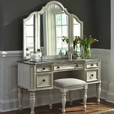 mirrored vanity furniture. Antique Vanity Dresser With Mirror Magnolia Manor White And . Mirrored Furniture