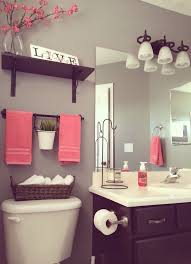 Pink And Grey Bathroom Accessories Surprising Design Ideas