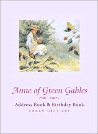 Birthday And Address Book Anne Of Green Gables Address Book Birthday Book By Key Porter Books