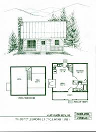 Cabin Plan April A1reative Floor Plans Ideas Page For Small Homes