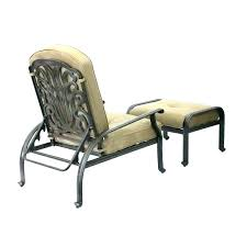 wicker patio chair with ottoman chairs and outdoor recliner indoor w
