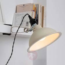 industrial look lighting. In Industrial Look Pepper Clip-on Light, Beige-3507235-31 Lighting A