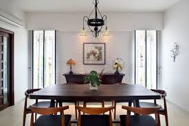 asian dining room by mong design studio