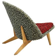 rare swedish trileg lounge chair for