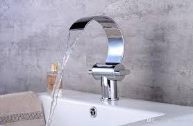 2019 new style brass deck mount bathroom faucets vanity vessel sinks mixer waterfall faucet tap from dragon136 106 54 dhgate com