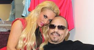 Coco Austin Dates Ice T in <b>Sexy</b> Red Dress and Animal <b>Print</b> Sandals