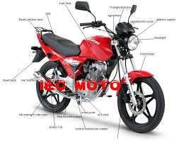 motorcycle parts and accessories products from china mainland