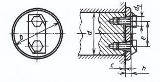 Торцовые <b>крепления</b> на валах   Справочник для конструкторов ...