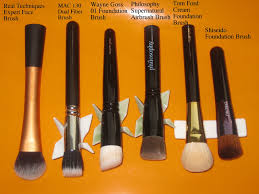 foundation brush parisons
