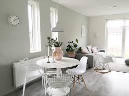 Woonkamer Witte Muren Modern Hous Witte Muur Kamer Eenvoud Ig Mooi