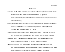mla works cited english composition i example of a works cited page