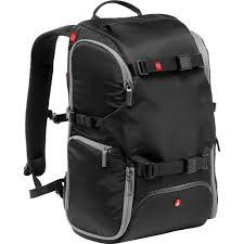 <b>Manfrotto</b> Advanced <b>Travel Backpack</b> (Black) MB MA-BP-TRV B&H