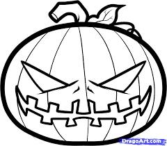 pumpkin drawing. pin drawn pumpkin line drawing #3 w