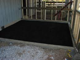 horse stall flooring options designs