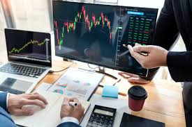 Free Stock Market Charts And Graphs Business Team Investment Entrepreneur Trading Discussing And