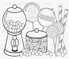 Small Picture Coloring Page Candy Pages For Kids To Print Gingerbread House