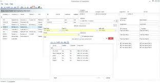 Supplier Performance Measurement Scorecard Template Xls Excel