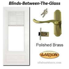 larson blinds between the glass storm