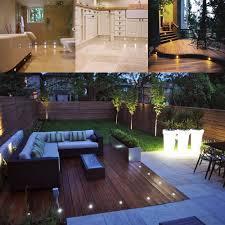 deck lighting. LED Deck Lights Kit 12V Low Voltage Waterproof IP67 Warm White Recessed  Lighting In Ground Light For Stair Step Garden Patio Yard Wood Floor Outdoor Deck Lighting