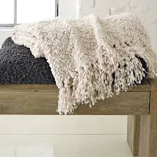 West Elm Throw Blanket