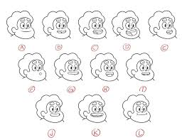 Phoneme Mouth Chart Facial Expressions Chart Drawing At Getdrawings Com Free