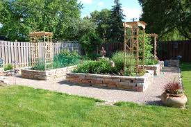 Small Picture How To Build A Raised Rock Garden Bed The Garden Inspirations