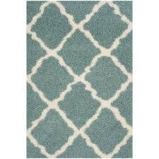 seafoam green area rug. Dallas Shag Seafoam/Ivory 5 Ft. X 8 Area Rug Seafoam Green N