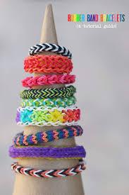 Make Rainbow Loom Bracelets A Tutorial Round Up