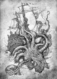 Small Picture giant octopus Tumblr Nautical Pinterest Sea monsters