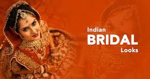 indian bridal look