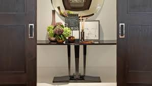 entrance console table furniture. Entrance Console Table Louise Bradley Design Contemporary Consoles Tables Art Work Flowers Luxury Hallway Designs Interior Furniture I