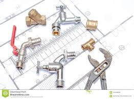Plan Plumber And Wrench Stock Image Image Of Spanner