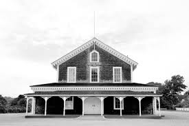grange hall martha s vineyard black and white